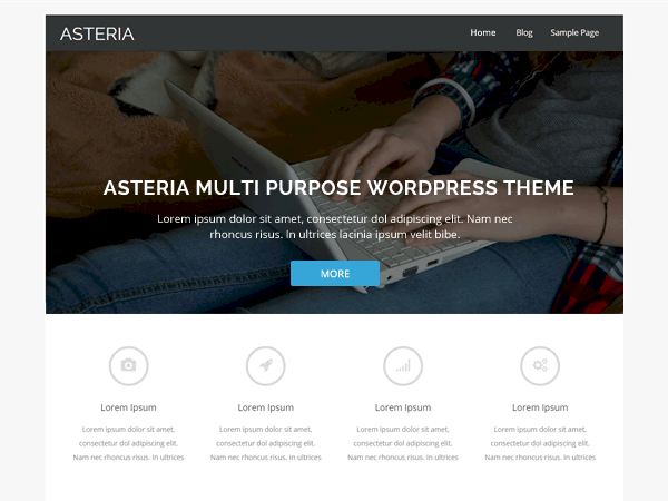 Asteria Lite WordPress Theme
