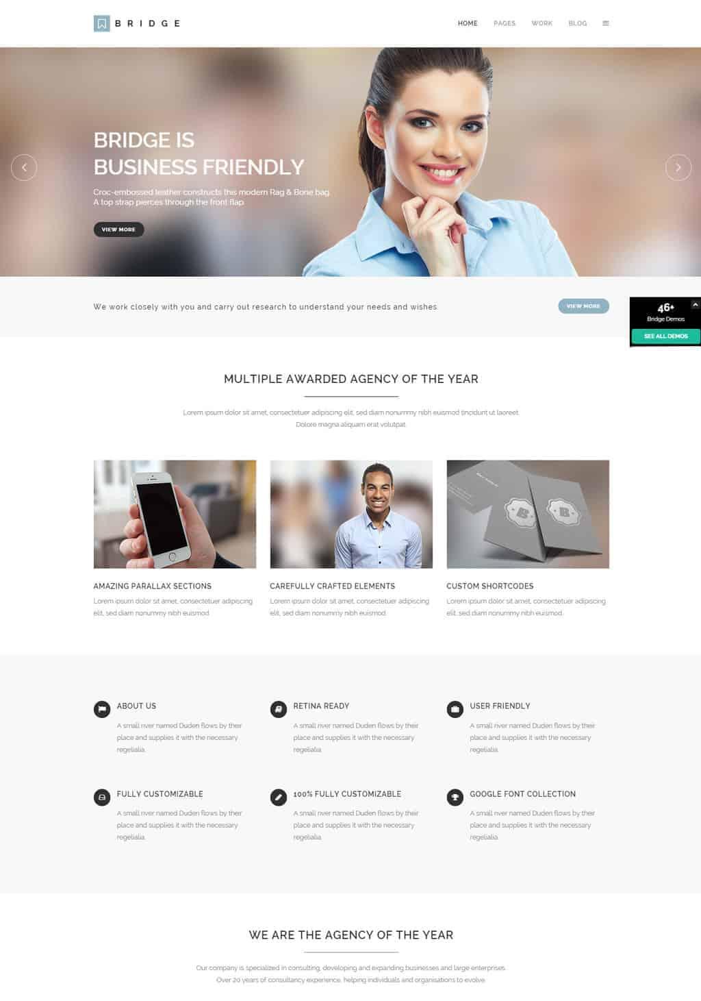 Bridge - Creative Multi-Purpose WordPress Theme