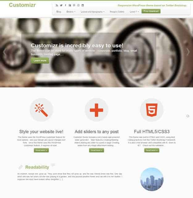 Best Free WordPress Themes for Business Featured Image