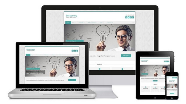 Discovery Free Business WordPress Theme