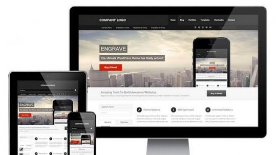 Engrave (Lite) Free WordPress Theme