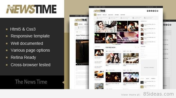 News-Time-theme