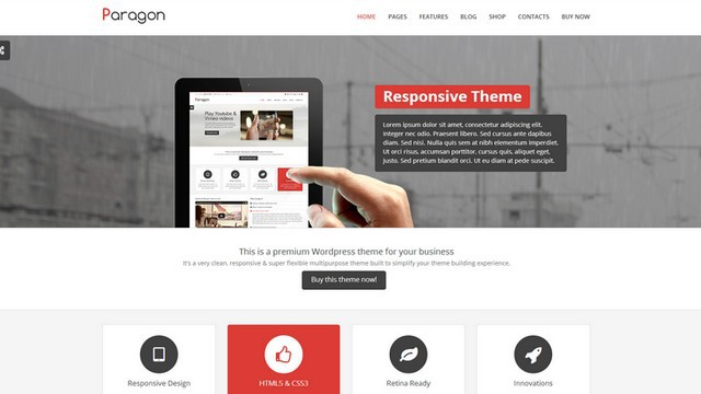Paragon Multipurpose WordPress Theme