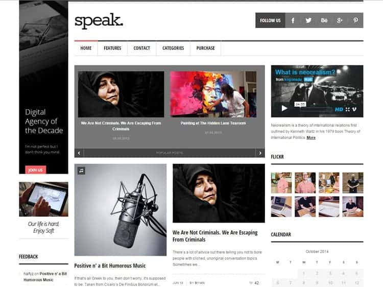 adsense wordpress themes
