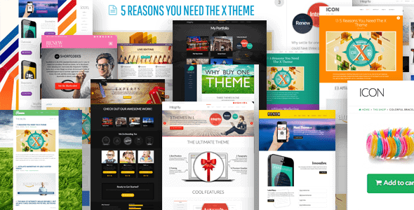 X Theme - most customizable wordpress theme
