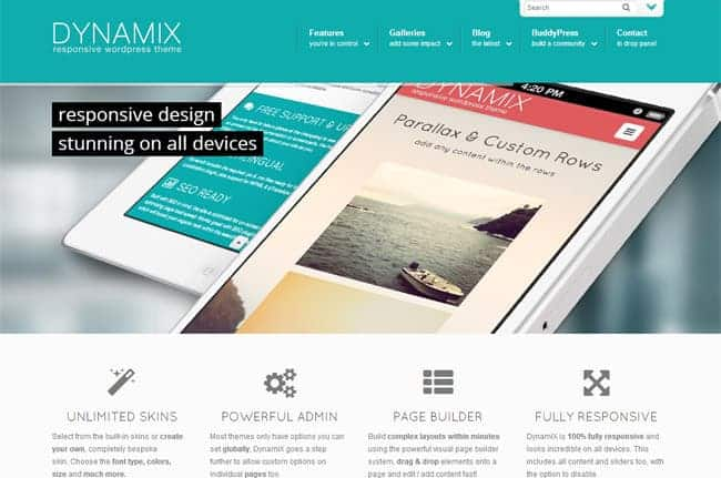 dynamix-wordpress-theme