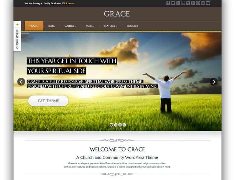 Graceland Church Theme