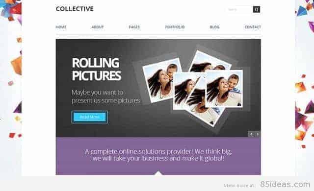 Collective Multi-Purpose WordPress Theme