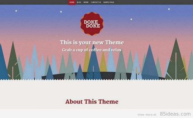 Doke Doke Free WordPress Theme