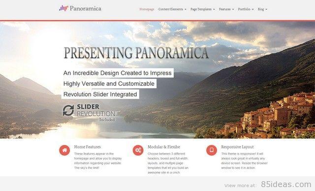 Panoramica Professional WordPress Theme