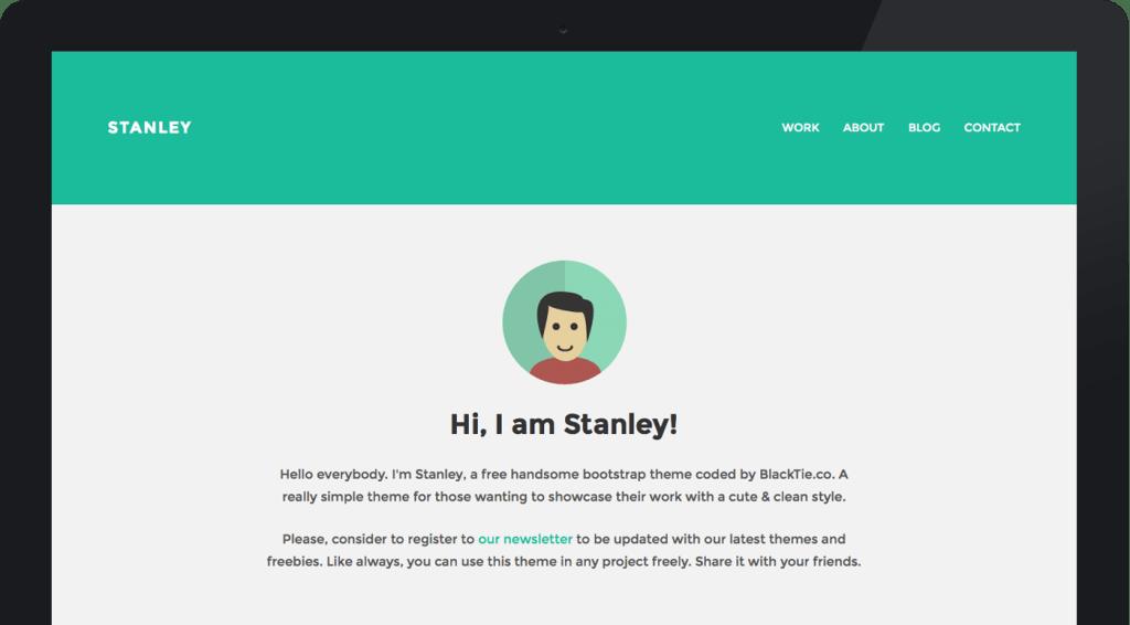 StanleyWP Twitter Bootstrap WordPress Theme
