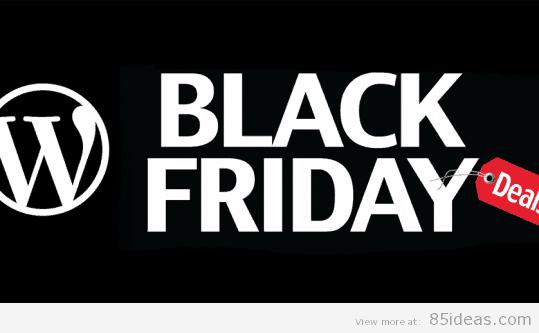 WordPress Black Friday - Cyber Monday Deals 2014