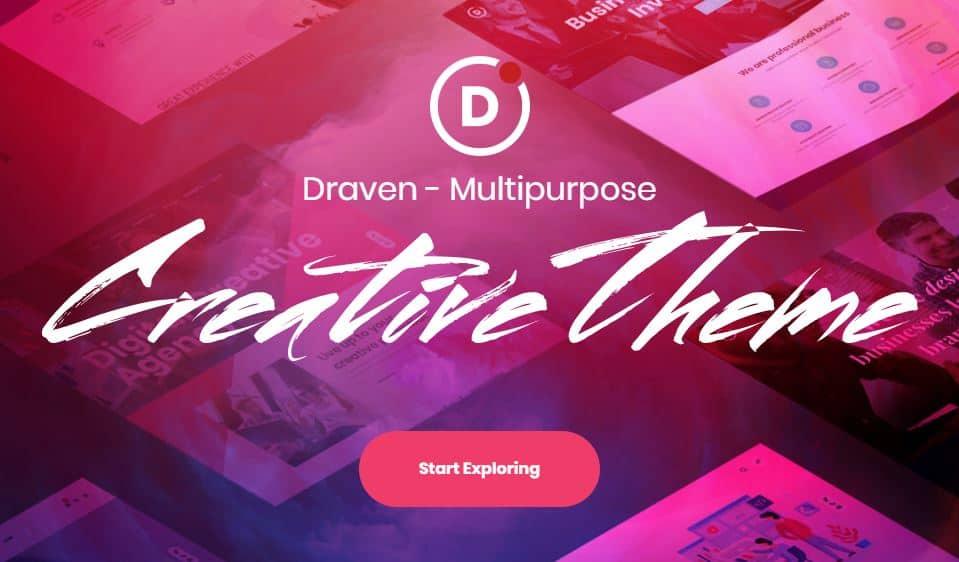 Draven – Multi-Purpose WordPress Theme