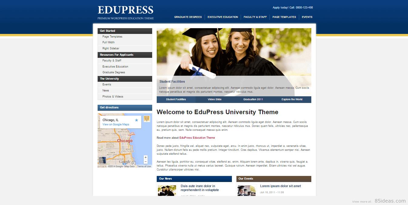 EduPress theme