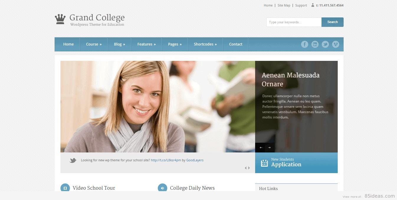 Grand College theme