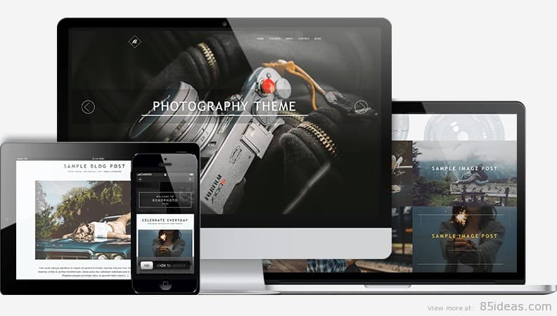 RokoPhoto WordPress Theme