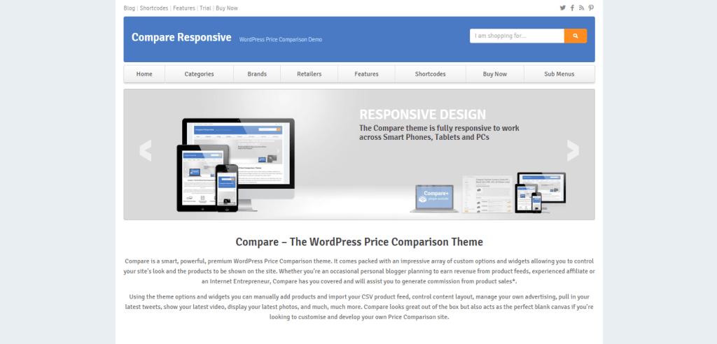 Compare WordPress Theme
