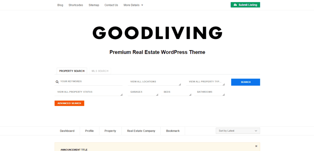 GoodLiving Theme