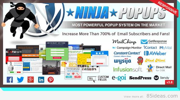 Ninja popups plugin