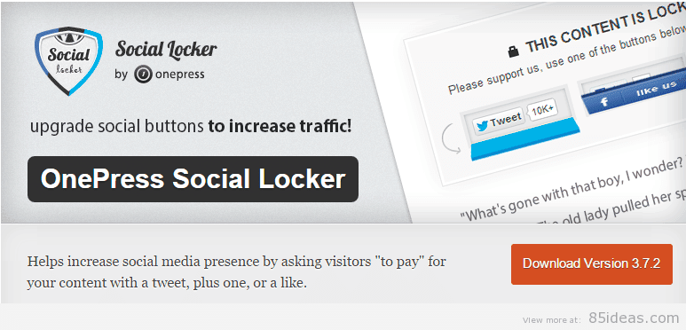 OnePress Social Locker Plugins