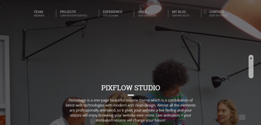 Pixflow theme
