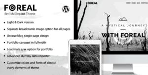 Foreal-Director-Writer-WordPress-Theme