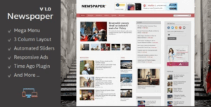 Newspaper-Responsive-Blogger-Template