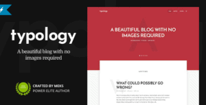 Typology-Minimalist-WordPress-Blog-Text-Based-Theme