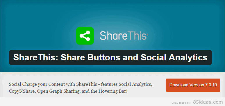 ShareThis WordPress Plugins