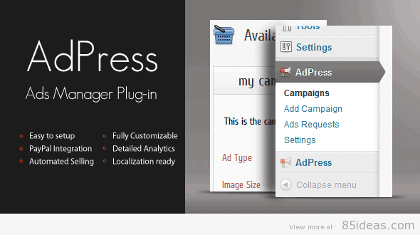 AdPress WordPress Ad Manager
