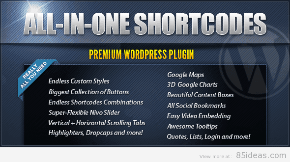All-In-One Shortcodes
