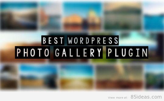 Best WordPress Photo Gallery Plugins