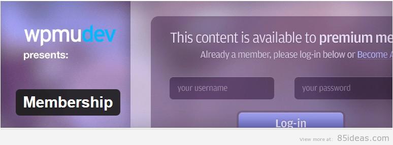 BuddyPress Membership Plugin