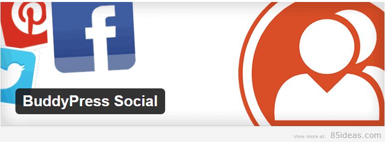 BuddyPress Social Plugin