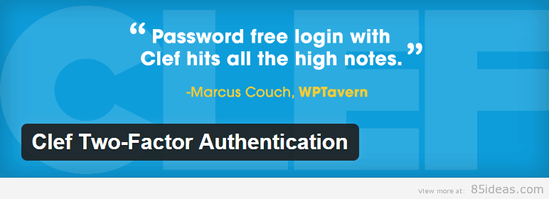 Clef Two Factor Authentication Plugin