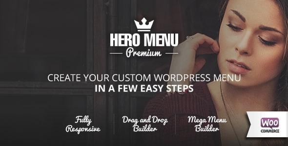 Hero Menu WordPress Mega Menu Plugin