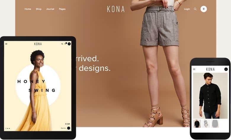 Kona WordPress Theme