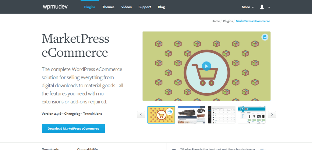 MarketPress E Commerce Plugin