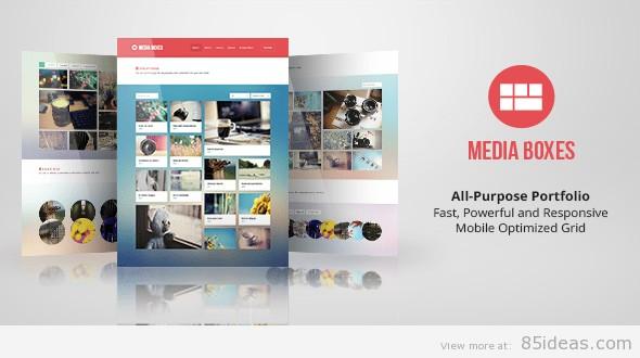 Media Boxes Portfolio Plugin