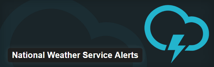 National Weather Service Alerts WordPress Plugin