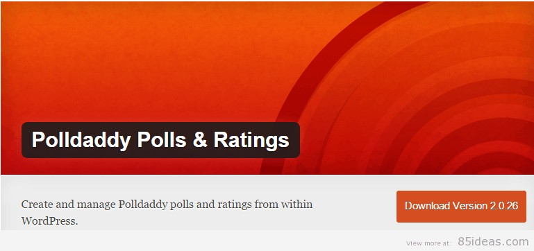 Polldaddy Polls Ratings Plugin