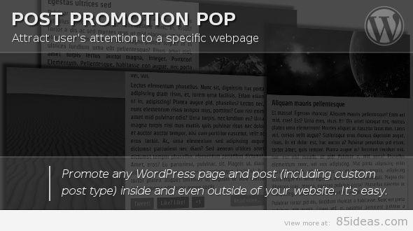 Post Promotion Pop