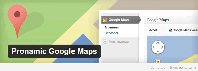 Pronamic Google Map Plugin