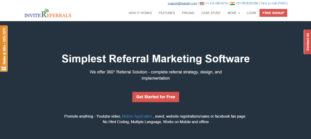 Referral Marketing Software InviteReferrals