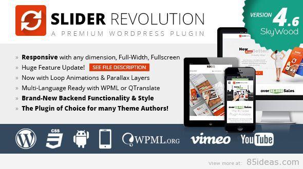 Slider Revolution WordPress Plugin