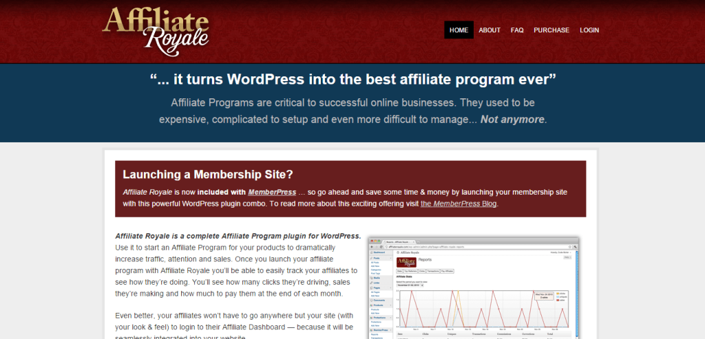 WordPress Affiliate Plugin by Affiliate Royale