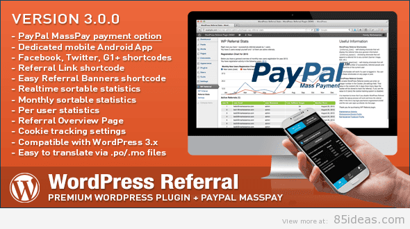 WordPress Affiliate Referral Plugin