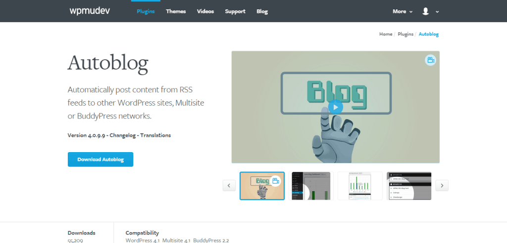 WordPress Autoblog Plugin