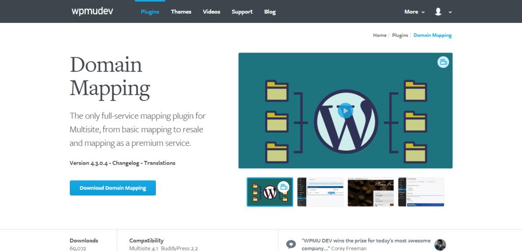 WordPress Domain Mapping Plugin