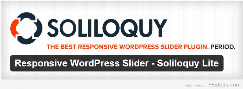 WordPress Slider by Soliloquy Lite